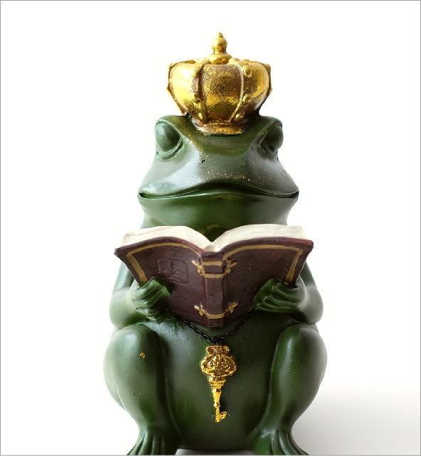 カエル王子の置物(1)