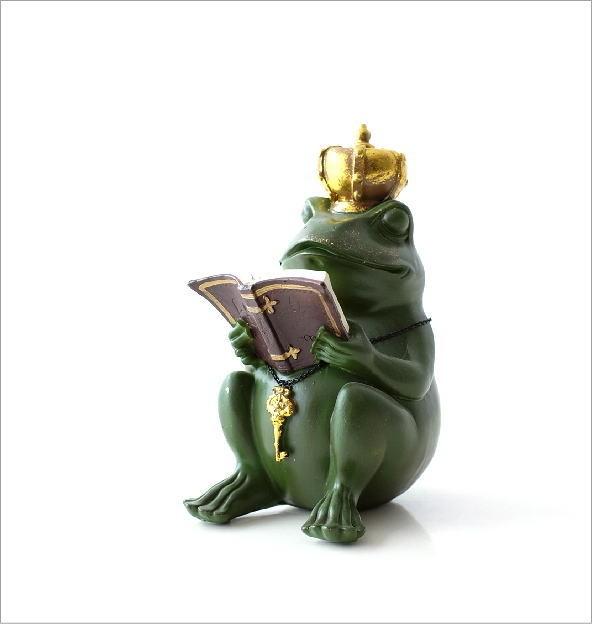 カエル王子の置物(4)