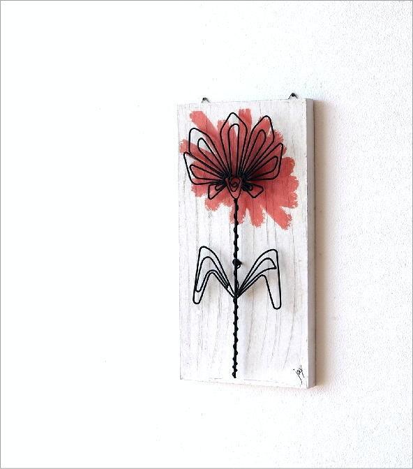 ウォールアートパネル 花B(1)