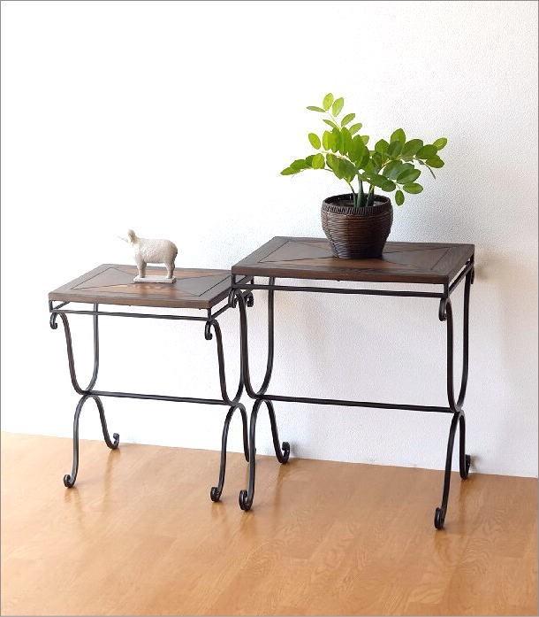 ウッドネストテーブル 2サイズセット(5)