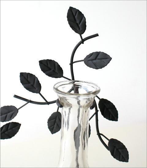 アイアンリーフの一輪挿し 2ガラス(2)