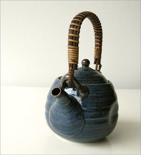 青万葉土瓶(1)