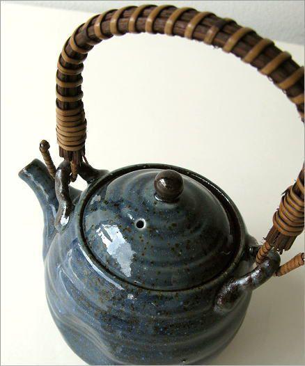 青万葉土瓶(2)