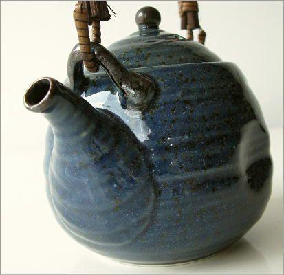 青万葉土瓶(3)