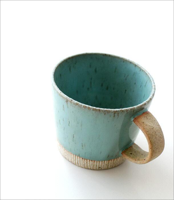 ターコイズマグカップ(1)
