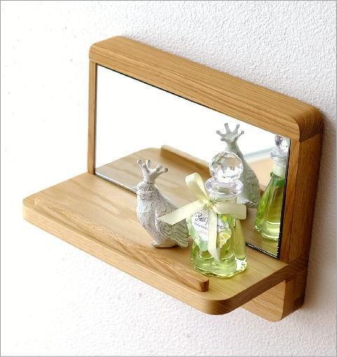 飾り棚カガミS オーク(2)