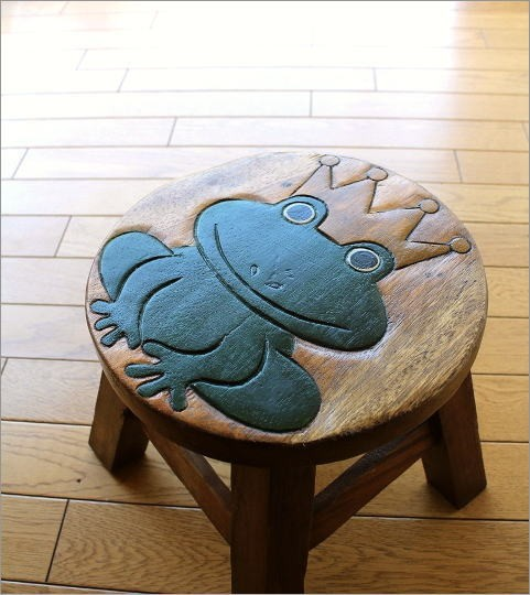 子供椅子 カエルさん(1)