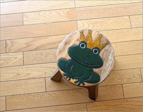 子供椅子 カエルさん(2)