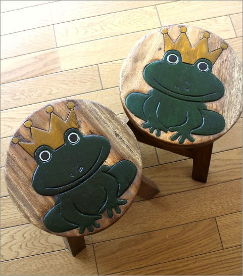 子供椅子 カエルさん(4)