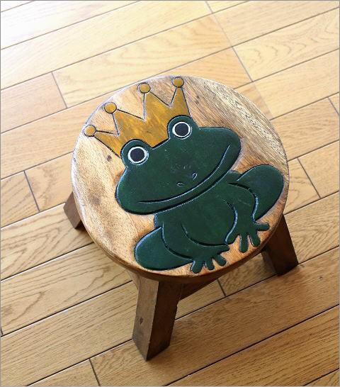 子供椅子 カエルさん(5)