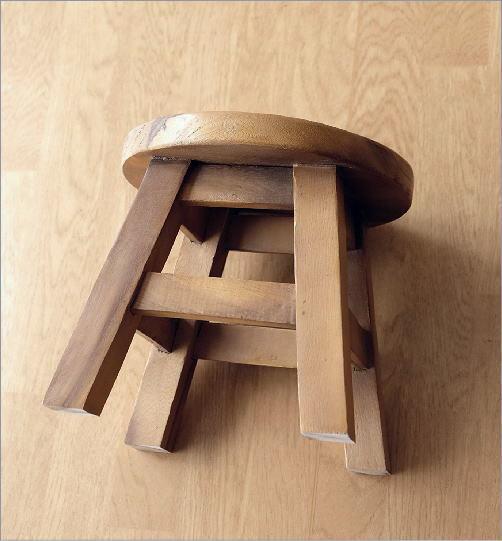 子供椅子ネコさん 木製椅子(3)