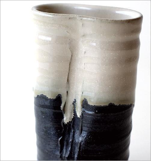 和陶器花入 結晶変形(3)