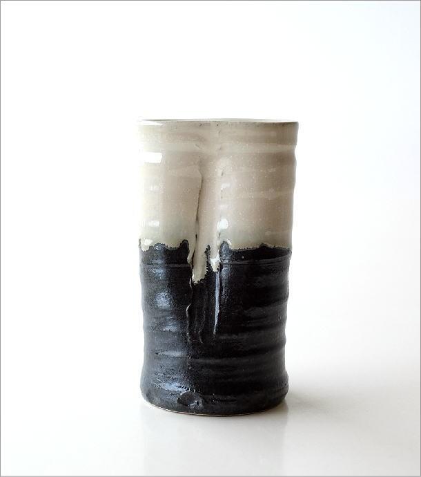 和陶器花入 結晶変形(5)
