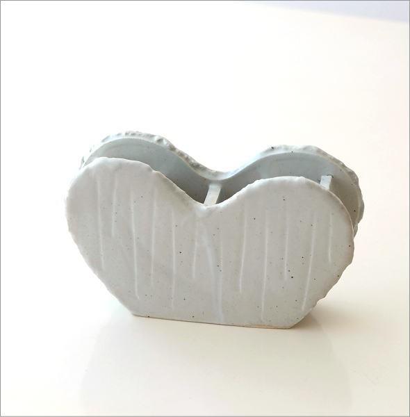 和陶器ベース ホワイトハート(5)