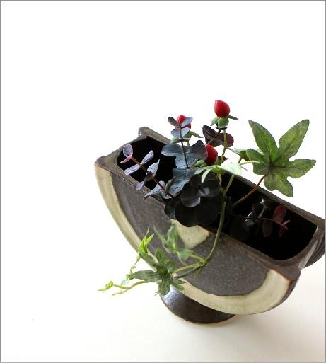 花瓶 陶器 花器 和陶器ベース 二(1)