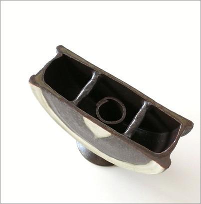 花瓶 陶器 花器 和陶器ベース 二(2)