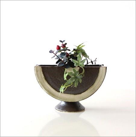花瓶 陶器 花器 和陶器ベース 二(4)