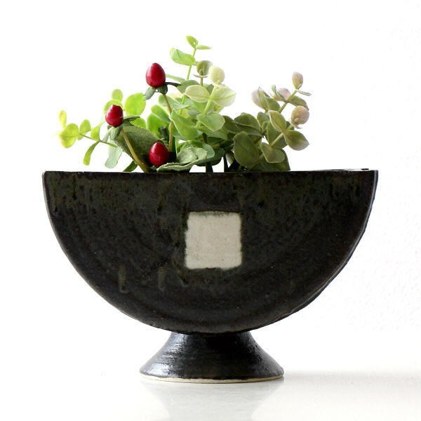 花瓶 陶器 花器 和陶器ベース 四(1)