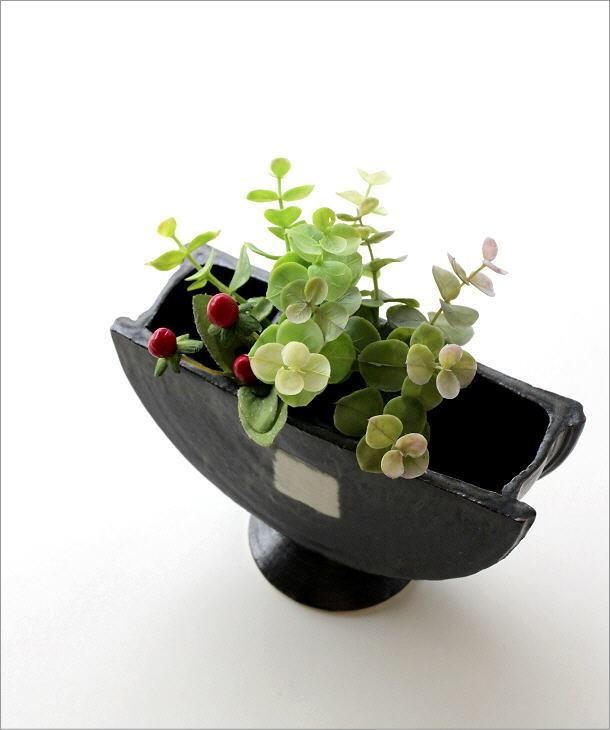 花瓶 陶器 花器 和陶器ベース 四(2)