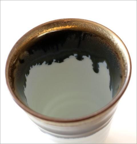 墨流し&ゴールドビアカップ(3)