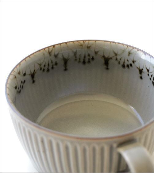 ダマスクフラワー蓋付きスープカップ 2カラー(3)