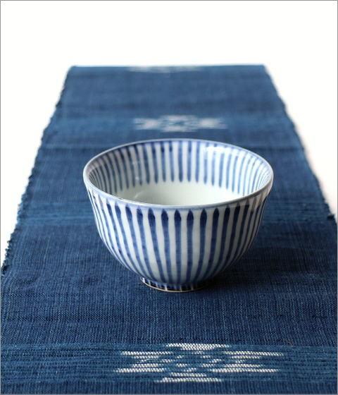 飯碗 染付十草(4)
