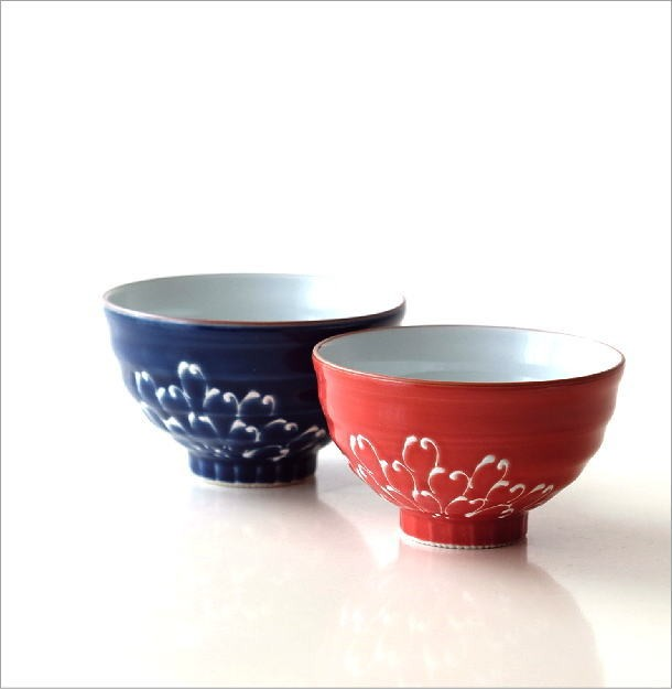 一珍菊大・小茶碗セット(1)