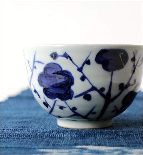 飯碗 古染枝梅(2)
