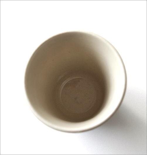 アメ釉面取湯のみ(3)