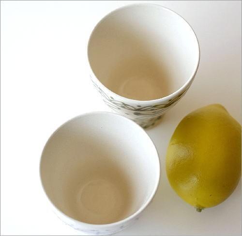 一珍レリーフ湯のみ茶碗 2カラー(2)