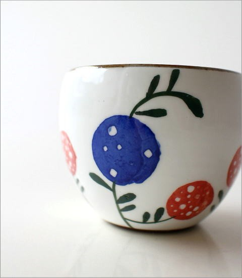 粉引丸煎茶 花の実(2)