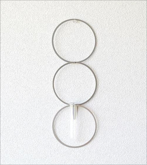 アルミとガラスのベース リング(2)