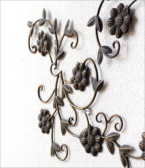 アイアン壁飾りデージー2セット(3)