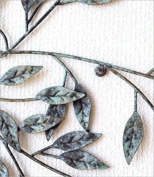 アイアンの壁飾り ウィンドツリー(2)
