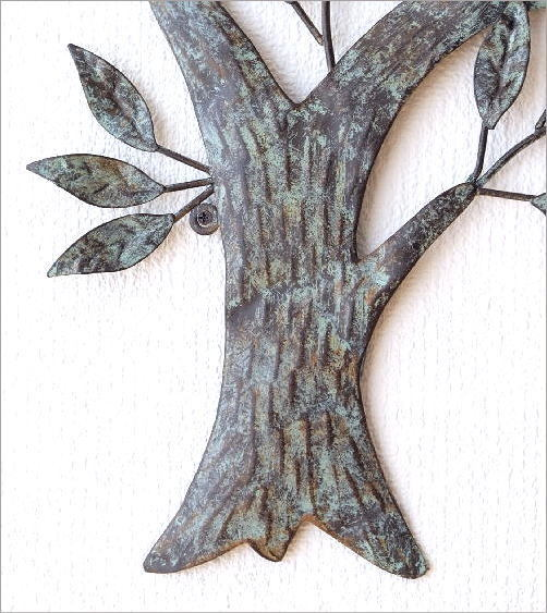 アイアンの壁飾り ウィンドツリー(3)