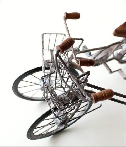 アンティークな自転車の置物 2タイプ(2)