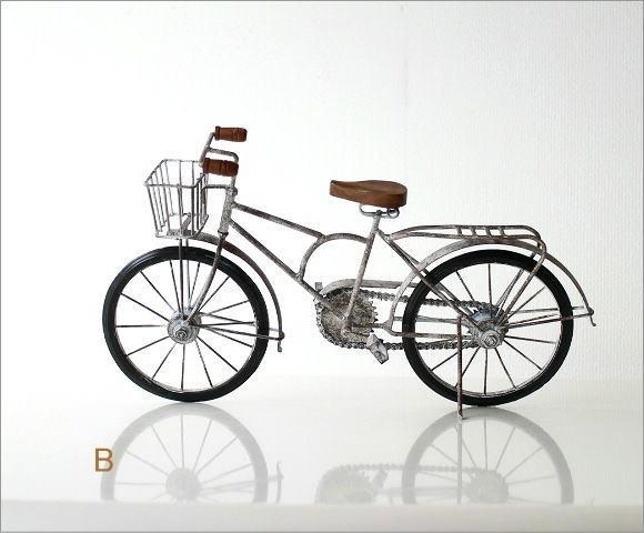 アンティークな自転車の置物 2タイプ(5)