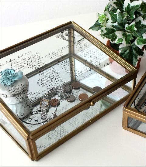 アンティークなガラスケース 2Pセット(2)