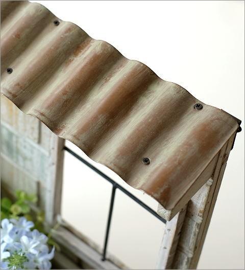 レンガ風ウッド壁掛プランター ガーデン(2)