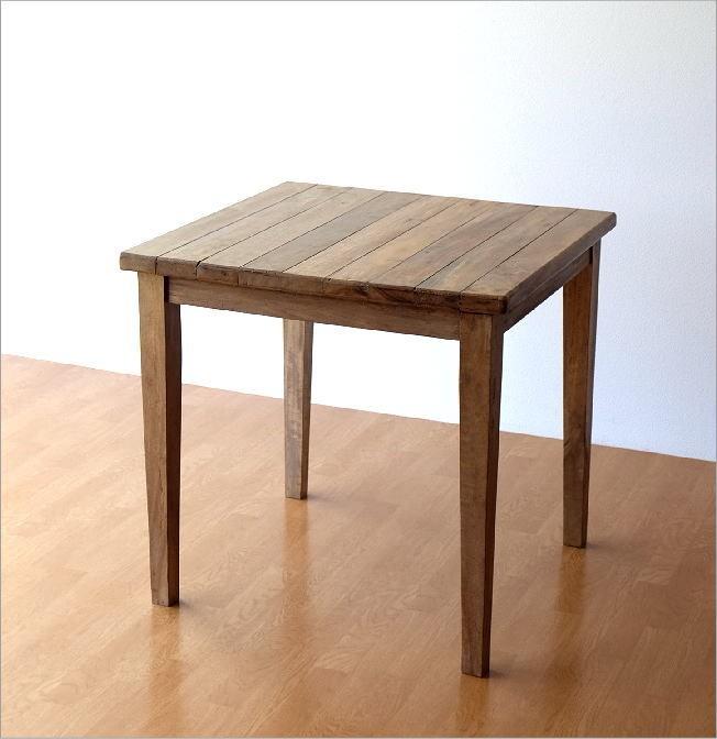シャビーシックなスクエアテーブル(5)
