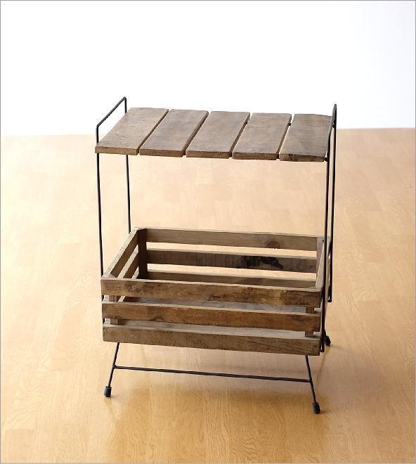 シャビーシックなラックテーブル(3)