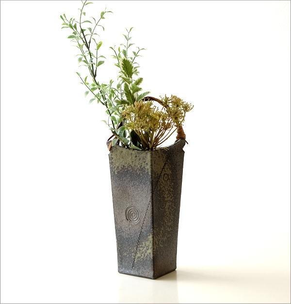 和陶器ベース 蔓付きB(4)