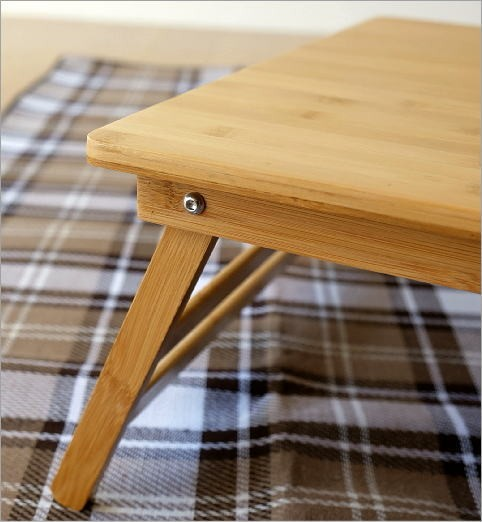 折り畳みバンブーテーブル L(2)