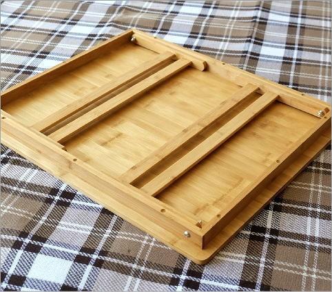 折り畳みバンブーテーブル L(3)