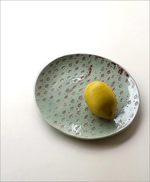 プレート 印伝丸皿(1)
