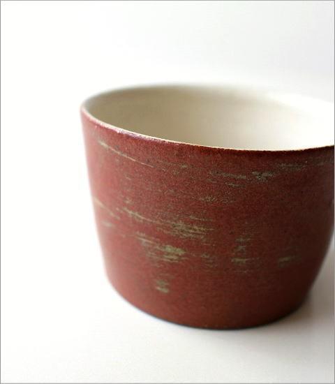 小さなスープカップ 深緋釉(2)