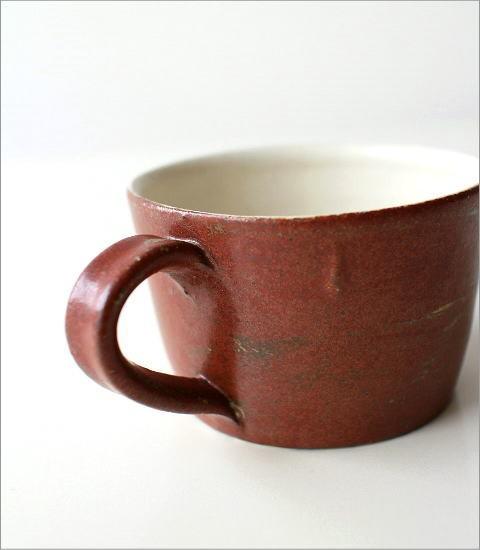 小さなスープカップ 深緋釉(3)