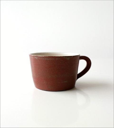 小さなスープカップ 深緋釉(5)