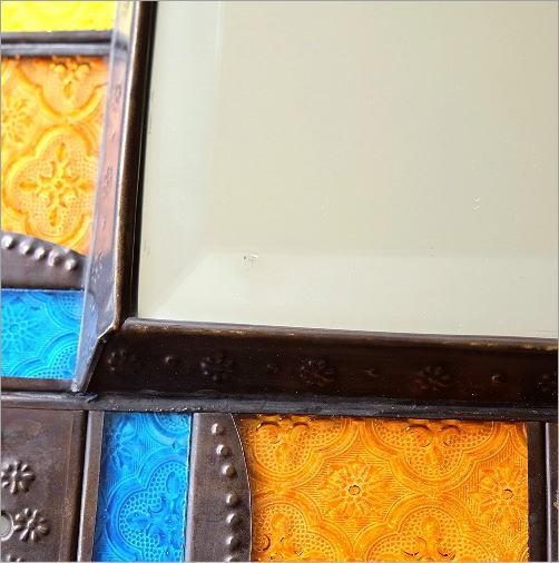 エキゾチックなガラスモザイクミラー(6)
