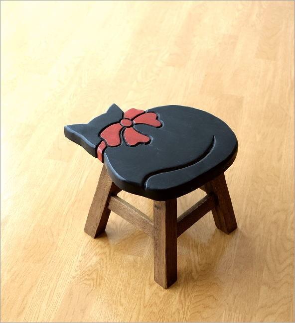 子供椅子黒ネコさん(5)